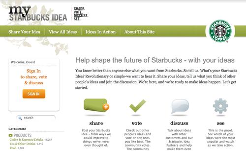 Starbucksideas